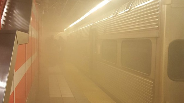 PATCO Train Evacuated in Camden Due to Smoke Inside