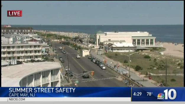 Pedestrian Safety Campaign at the Jersey Shore Begins