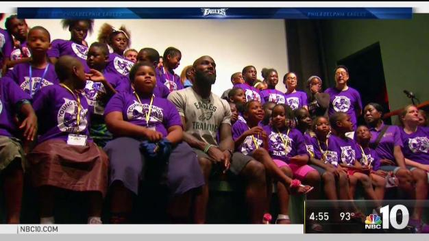 Philadelphia Kids Get to Learn From Malcolm Jenkins