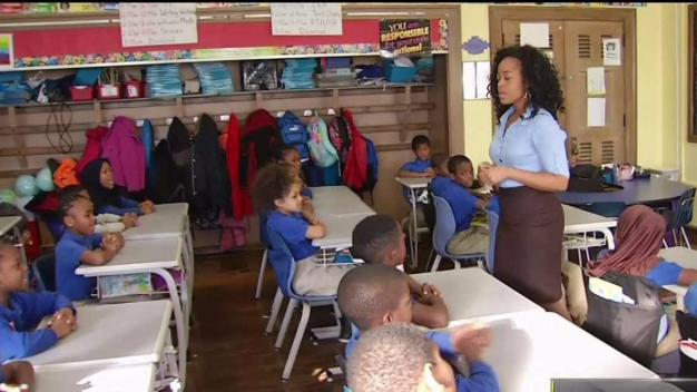Back-to-School Ad Spotlights Philly Teacher, Class
