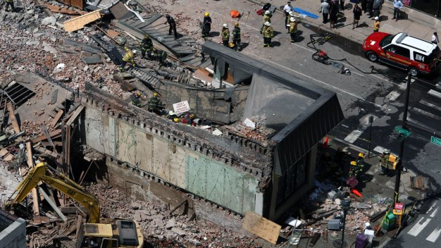 Contractor, Victim Conversed Before Deadly Collapse