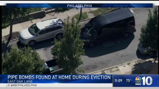 Pipe Bombs Found at Home During Eviction