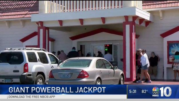 Powerball Fever Sweeps Region