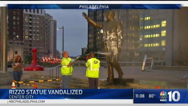 Philly's Rizzo Statue Vandalized, Again