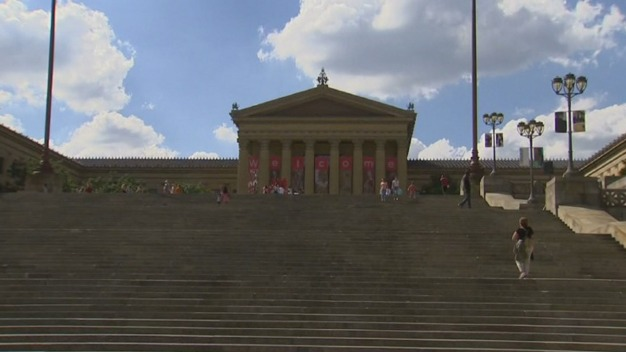 "Wawa Welcome America Festival: ""Rocky"" Screening On Art Museum Steps"