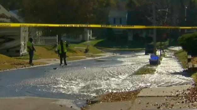 Street Flooding in Roxborough After Water Main Break