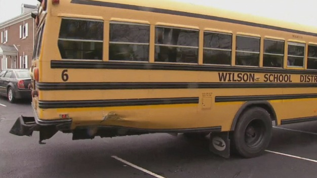 School Bus and Car Collide in Berks County, 17 Children Aboard Bus