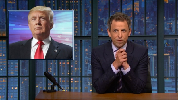 The New Trump: A Closer Look With Seth Meyers on 'Late Night