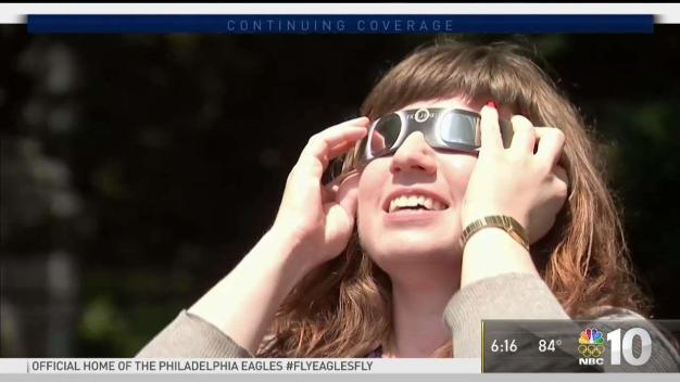Signs of Eye Damage After Solar Eclipse