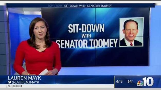 Sit-Down With Senator Toomey