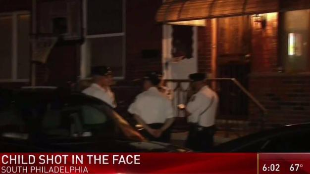 South Philadelphia Child Shot in Face