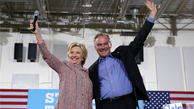 Kaine a Safe Pick for Clinton, Observer Says