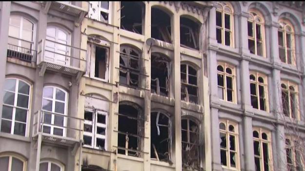 Old City Building Set for Demolition After Massive Fire