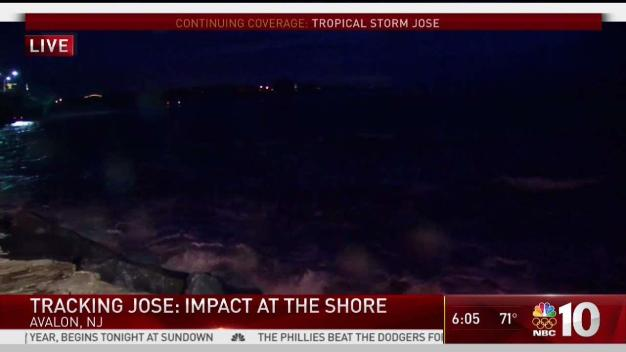 The Impact Tropical Storm Jose Is Having at the Shore