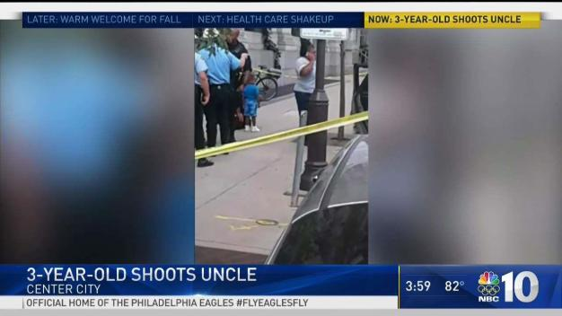 Boy, 3, Shoots Uncle with Police Officer's Gun