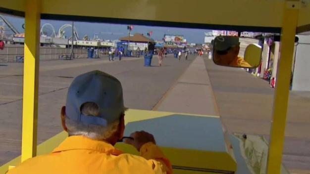 Wildwood's Iconic Tram Car Celebrates 70th Summer