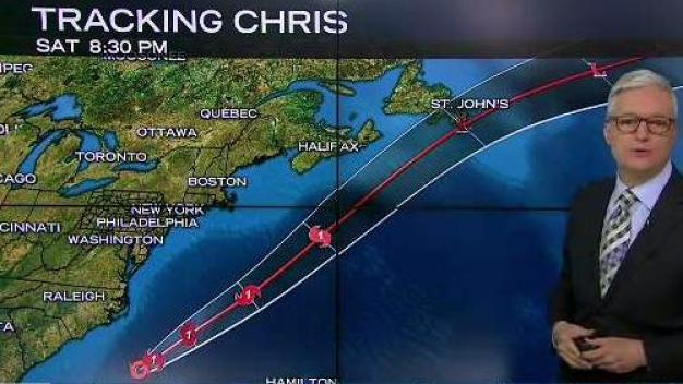 Chris Causing Rip Current Risk Along Jersey Shore