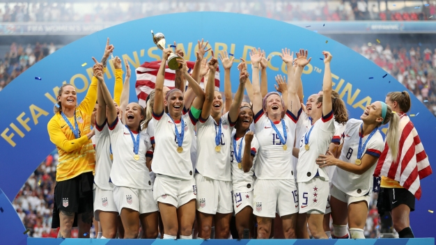 US Women's Team Boldly Embraces Off-the-Field Activist Role