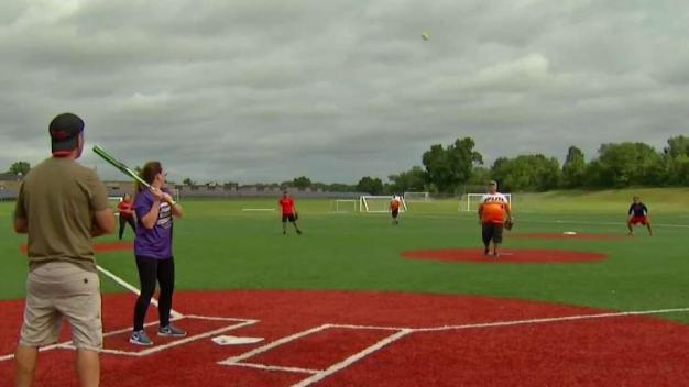 Using Softball to Fight Addiction