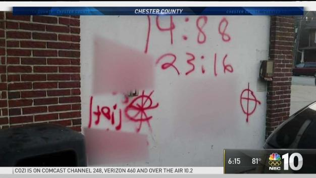 Vandals Spray Racist and Anti Semitic Graffiti in Coatesville