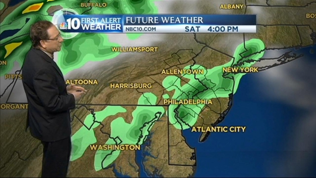 NBC10 First Alert Weather: Big Cool Down Tonight