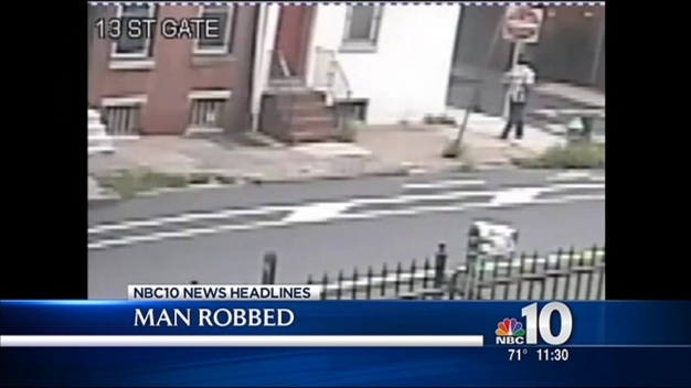 Caught on Camera: Elderly Man Robbed