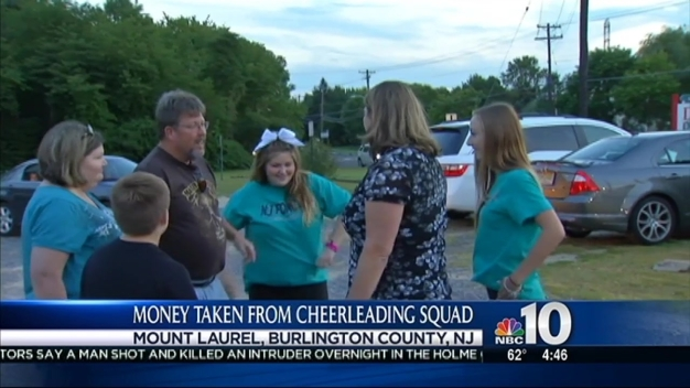 Local Cheer Squad Still Has Spirit After Theft