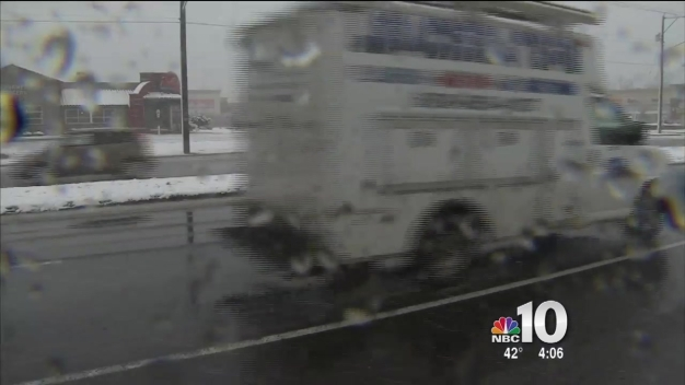 Quick Storm Makes Messy Commute
