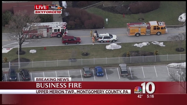 Montco Workplace Fire