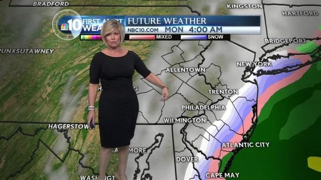 First Alert: Mild Now, But Snowy Mix Returns