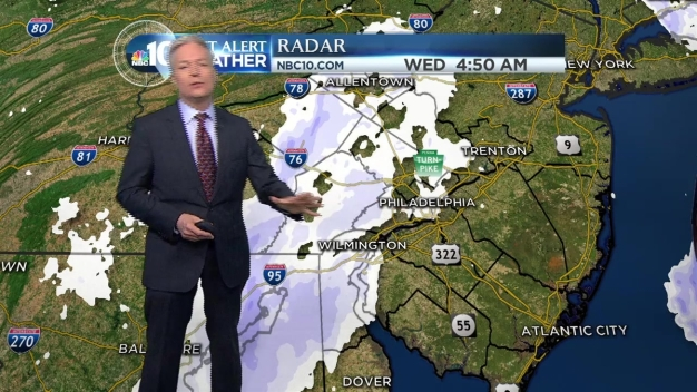 NBC10 First Alert Weather: Snow Ends, Breezy
