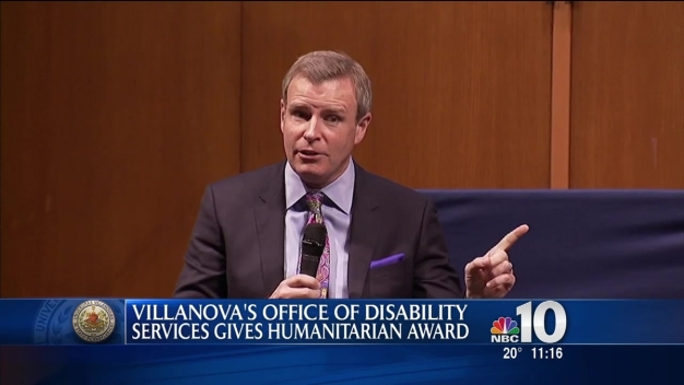 Villanova Gives Humanitarian Award