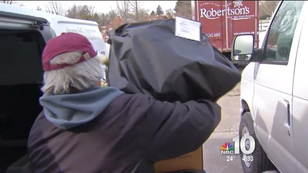 Cold Makes Valentine's Day Deliveries More Difficult