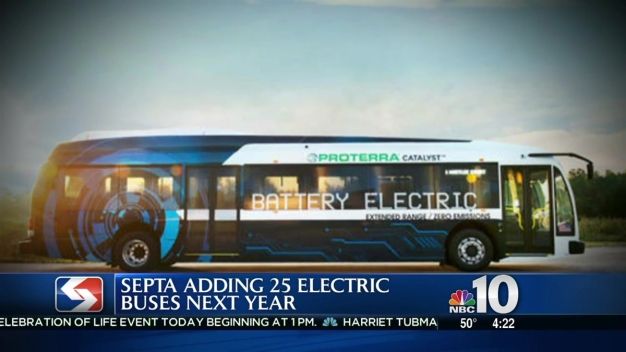SEPTA Buses Go Green