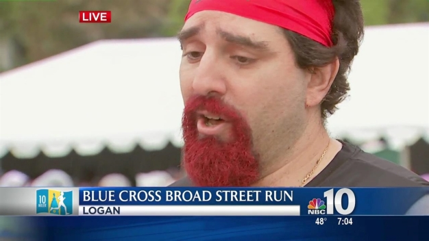 Local Runner Dons Kilt, Runs Broad Street for a Good Cause