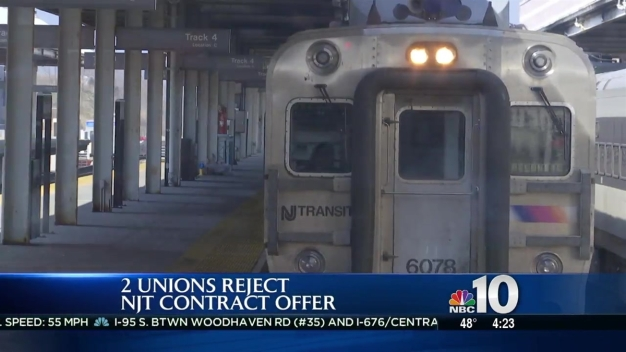 Conductor Unions Reject NJ Transit Contract Offer
