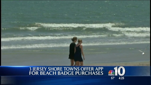 Jersey Shore Towns Offer Beach Tag Apps