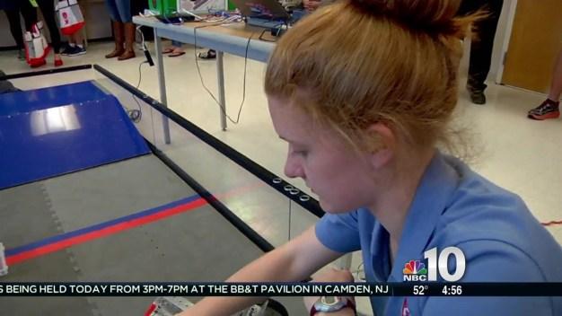 High School Girls Get Closer Look at Tech Jobs