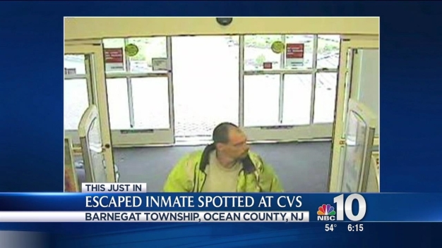 UPDATE: Escaped Inmate Spotted at CVS