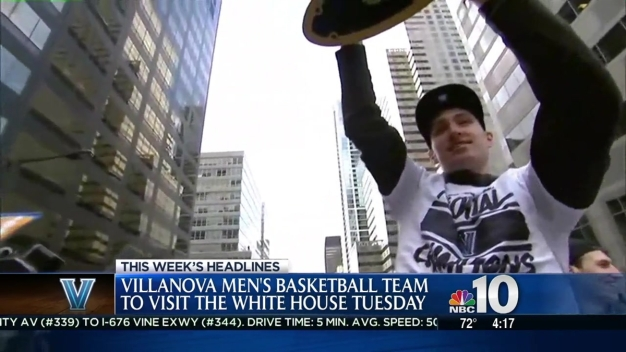 'Nova Champs Heading to the White House