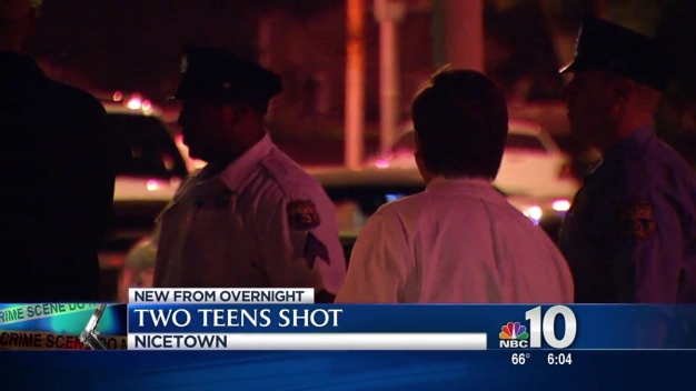 Two Teens Shot in Nicetown