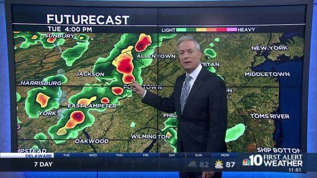 First Alert Weather: Storms, Then Sun
