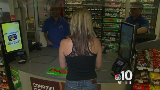 Mega Millions Frenzy Sweeps Area