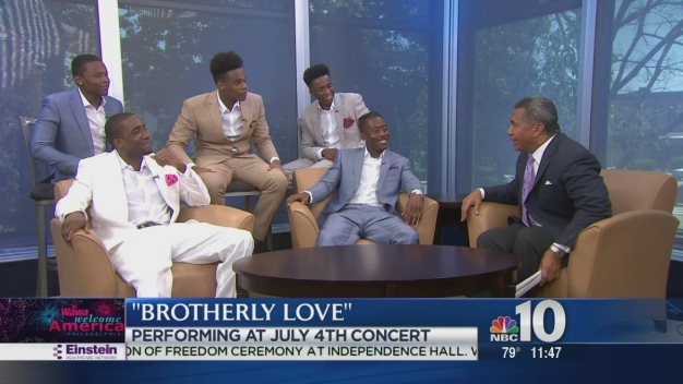Brotherly Love A Capella Group Gives Wawa Welcome America! Preview