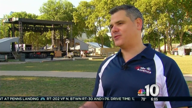 Preparations Underway for Penn's Landing Concert