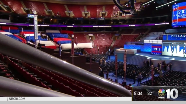 Inside the Walls: A Look at the DNC from Wells Fargo Center Floor