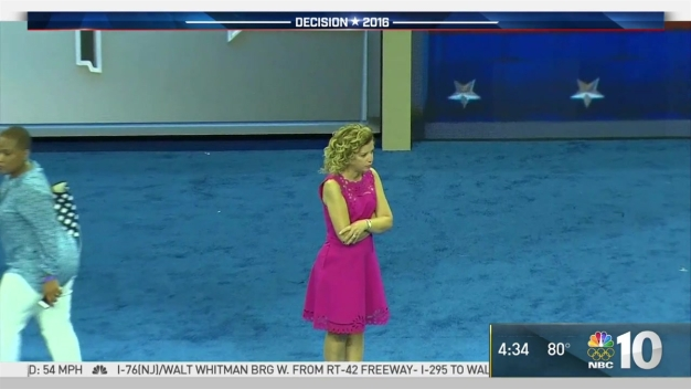 Wasserman Schultz At DNC Walk-Through