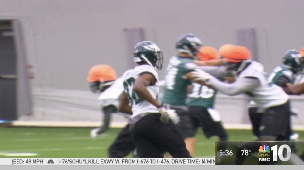 Eagles Training Camp Ramps Up