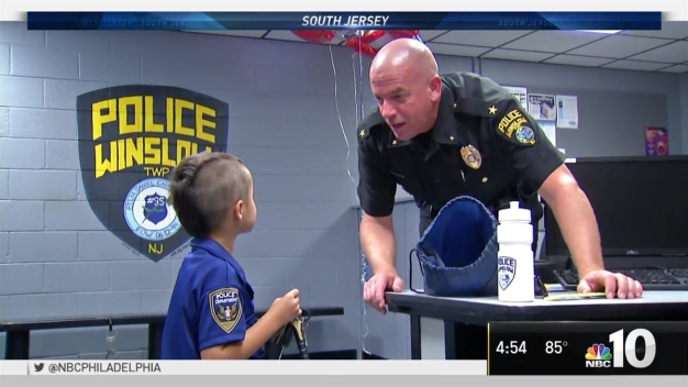 Boy Spends Allowance Buying Lunch for Local Officers
