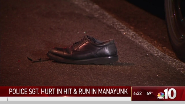 Hit-&-Run Driver Strikes Police Sergeant in Manayunk